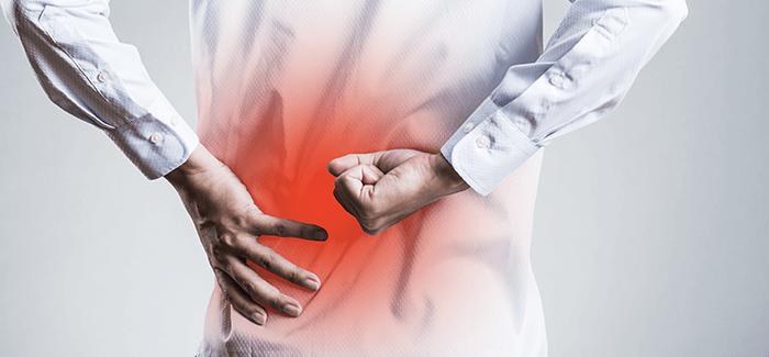 片側の腰痛